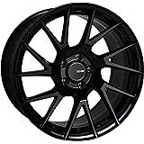 "17"" Enkei TM-7 Tuning Wheel Rim Black Paint 17x8 5x114.3 +45 507-780-6545BK"