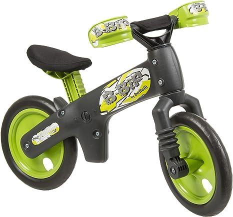 Bellelli B-Bip - Bicicleta infantil sin pedales, color verde ...