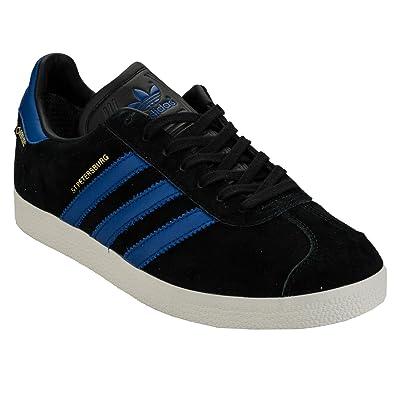 best service 1b930 f2416 adidas Mens Originals Mens St. Petersburg Gore-Tex Trainers in Black Royal  - UK Amazon.co.uk Shoes  Bags