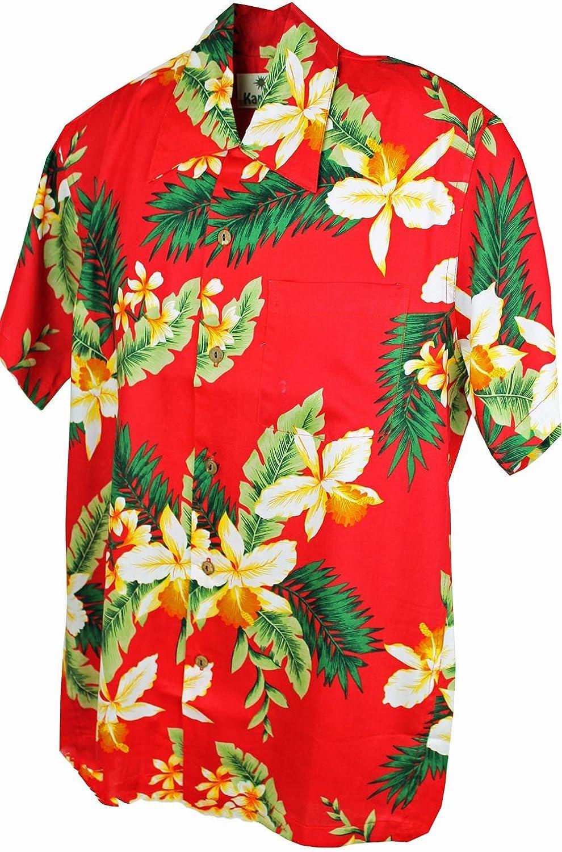 Karmakula retro Rockabilly Hawaii Flower Hemd Hawaiian Shirt