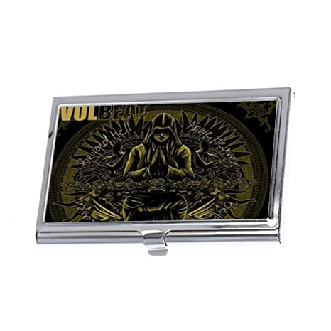 Chetery famoso Volbeat Custom – Titulares de tarjetas de negocios – tipo cartera de tarjetas de