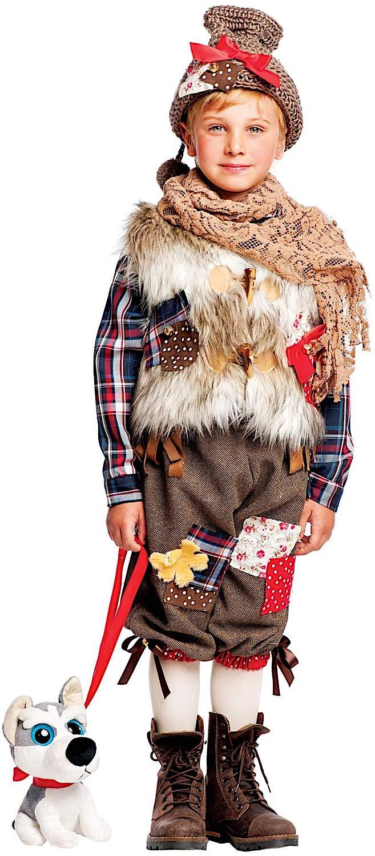 Costume di Carnevale da Dolce Remi Neonato Vestito per Neonato Bambino 0-3 Anni Travestimento Veneziano Halloween Cosplay Festa Party 50578 Taglia 1