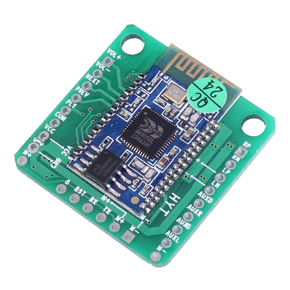 Icstation 2x5w Bk8000l Bluetooth Stereo Audio Receiver 5w Amplifier Board For Diy Wireless Speaker Home Theater