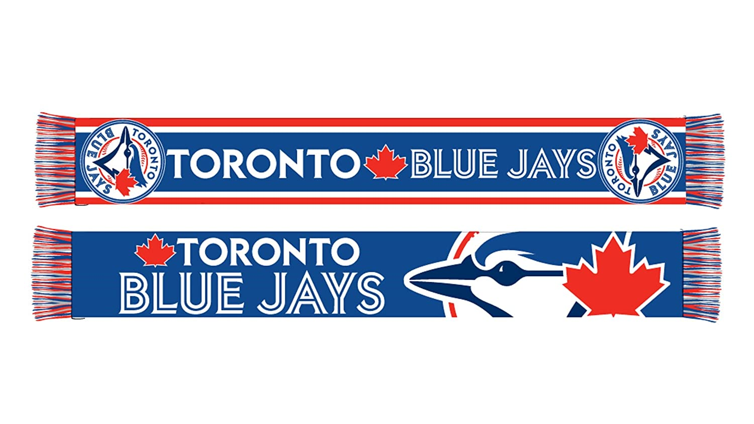 MLB Men's Toronto Blue Jays Licensed Super Fan Scarf SPORTICUS