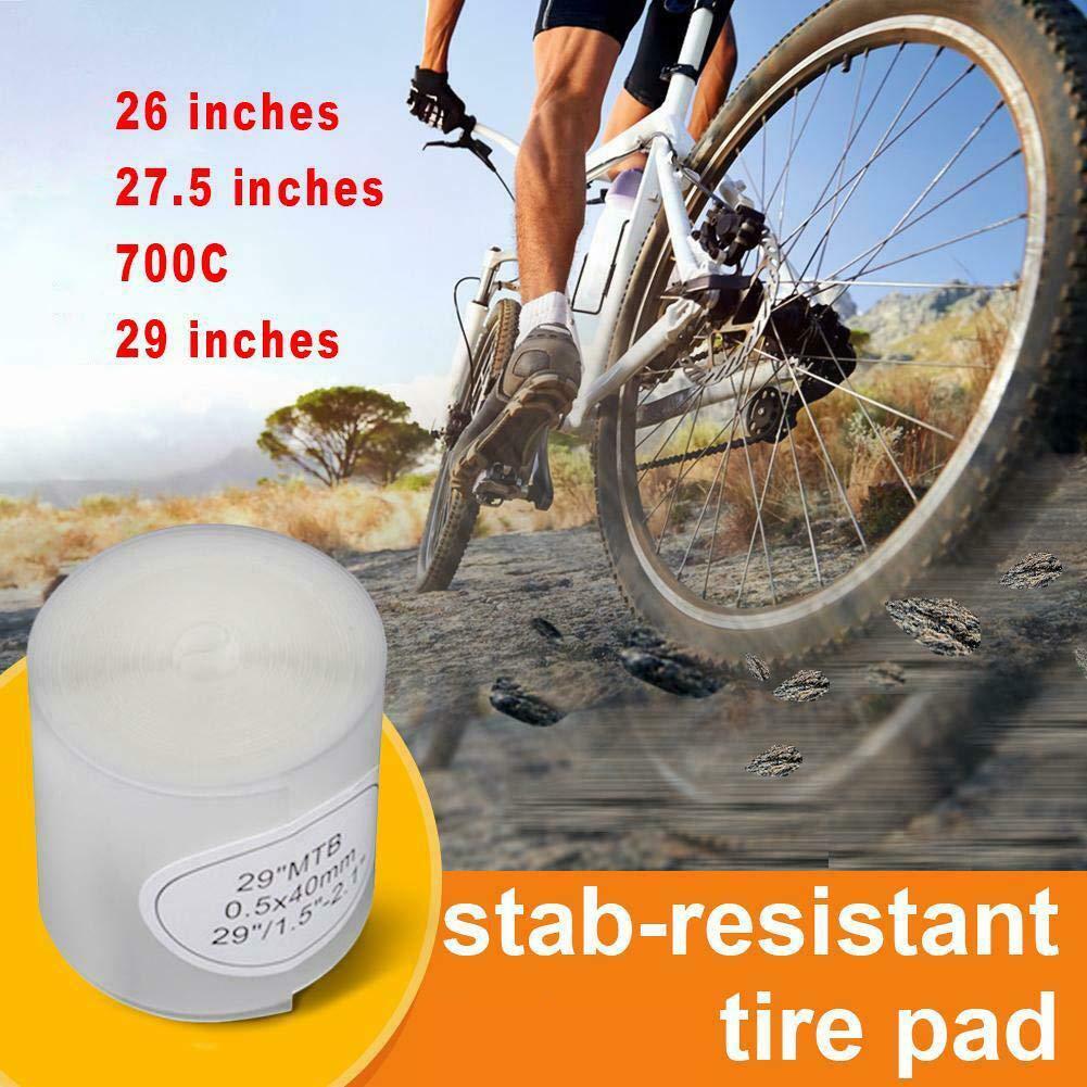 pol/ímero de Poliuretano, Resistente, antipinchazos, 700 C, 26//27,5//29 Pulgadas Protector de neum/áticos para Bicicleta tyrrdtrd