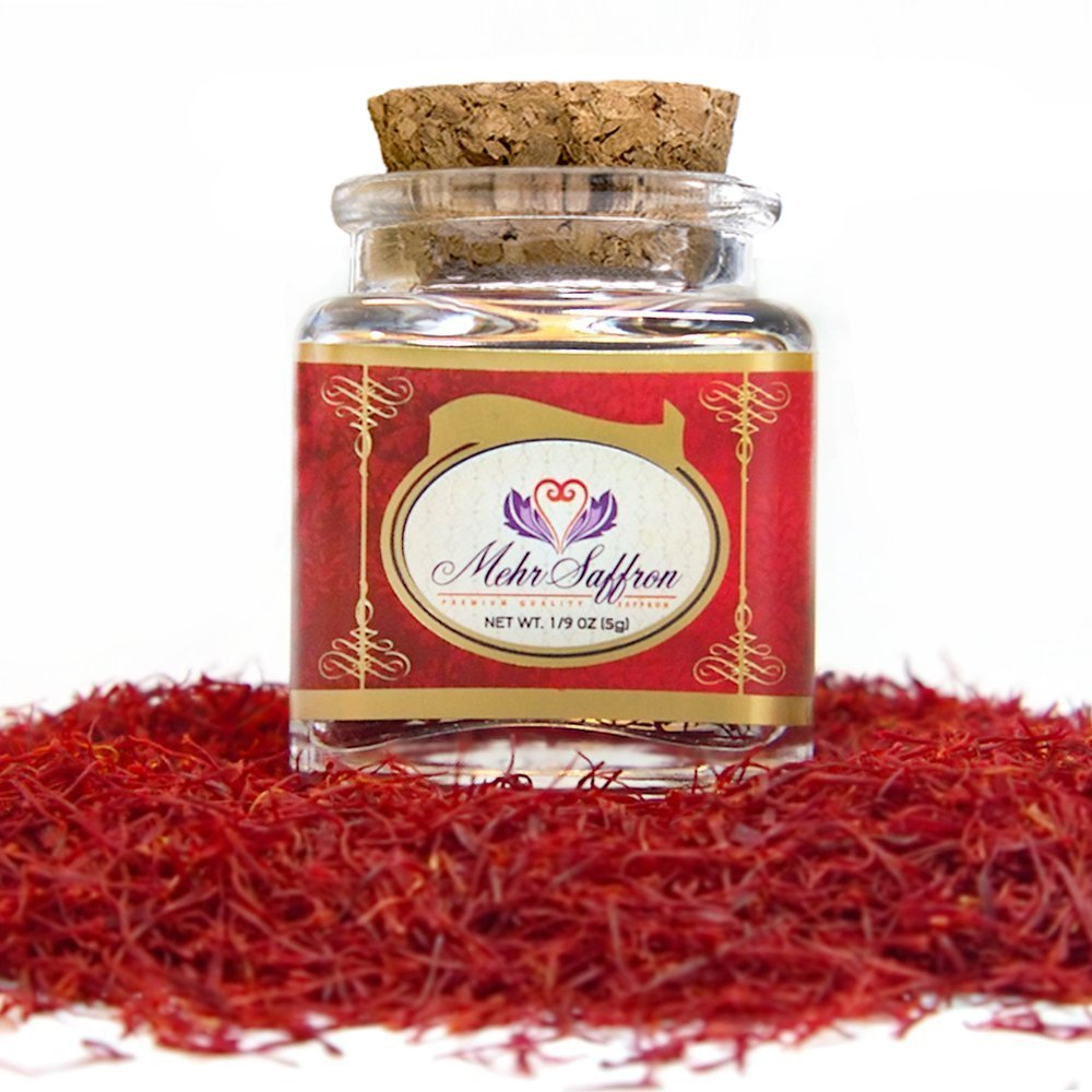 Mehr Saffron, Premium All Red Saffron/0.18 Oz (5 Gram)