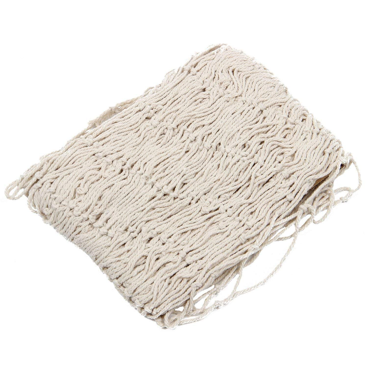 ITTA 1.5 x 2 m Decorative Fishing Net Nautical Sea Ocean Fish Net for Home Party Wedding Photography Props Decoration Wall Decor Beige