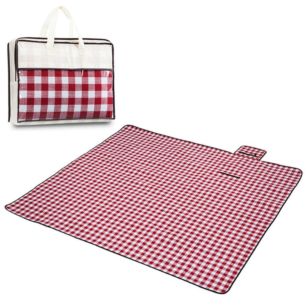 Portable Picknick-Matte Im Freien Wasserdichte Feuchtigkeitsfeste Kampierende Decke Strandmatte Für Das Wandern von Grass Park Travel B07DT7XMN5 Picknickdecken Geschwindigkeitsrückerstattung