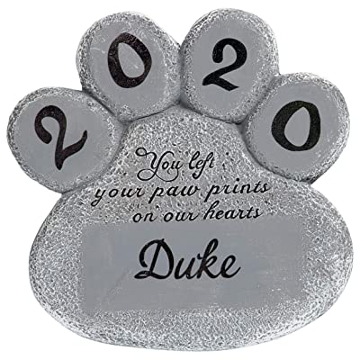 Fox Valley Traders Personalized Pet Memorial Stone