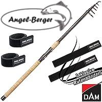 Angel-Berger DAM spécifique Stick Tele Canne à pêche télescopique canne à pêche tous les modèles Canne à pêche Ruban