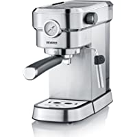 Severin Espresa KA Espressomachine , circa 1350 W, massieve en professionele piston met een gewicht van circa 450 g…