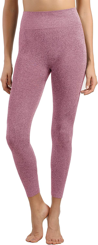 +MD Leggings di Strato di Base per Pantaloni Intimi Termici Senza Cuciture a Vita Alta da Donna
