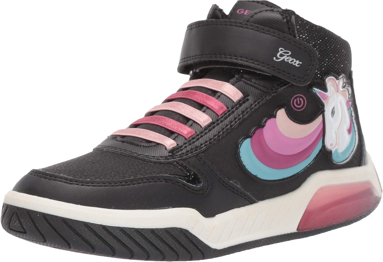 Geox Mädchen J Inek Girl B Hohe Sneaker