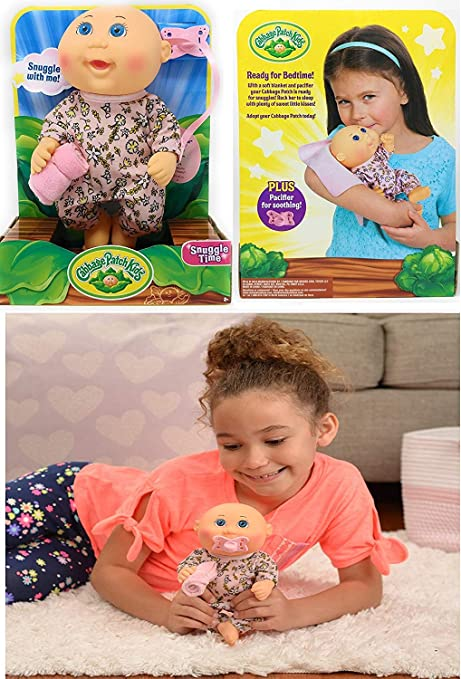 """35a0f860c3e64 Image Unavailable. Image not available for. Color: cabbage Patch Kids -  9"""" Sooth Time Newborn Baby Doll ..."""