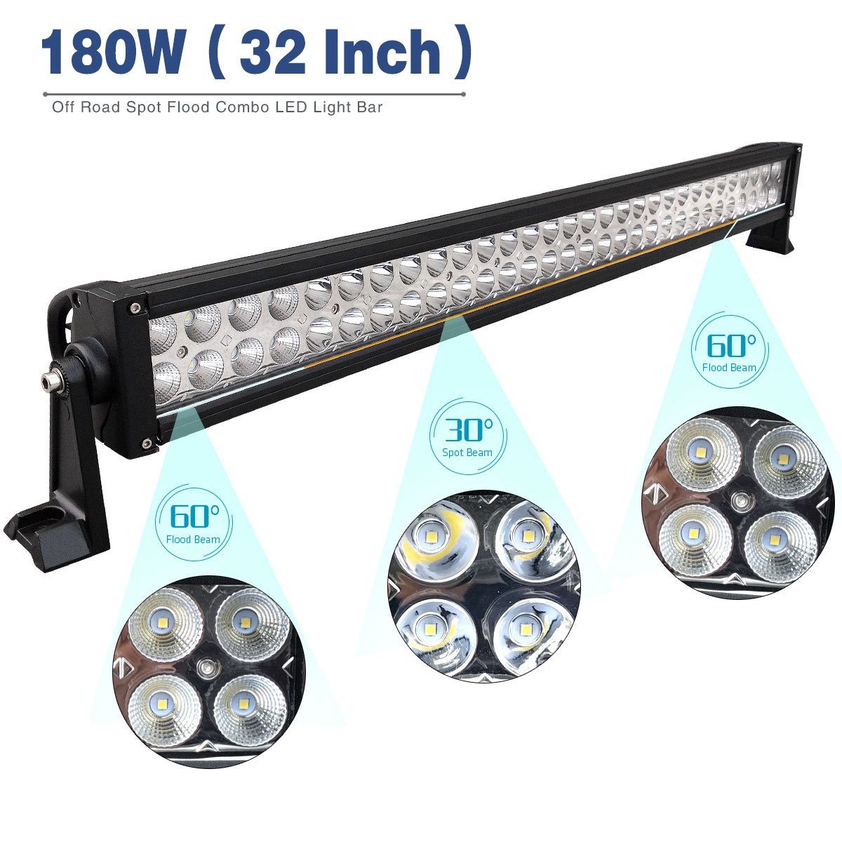 Amazon.com: YITAMOTOR 32 Inch LED Light Bar for Offroad Jeep Truck ...