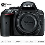 Nikon D5300 DX-Format 24.2 MP Digital SLR Camera Body - (Certified Refurbished)