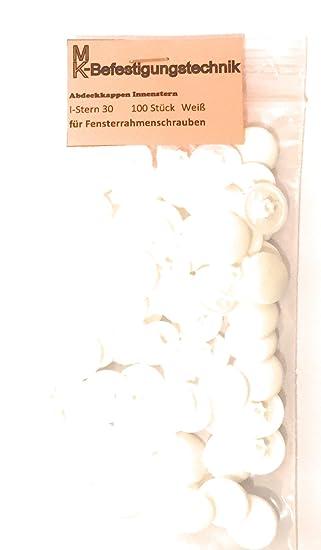 100 Stuck Abdeckkappen Fur Fensterrahmenschrauben Tx 30