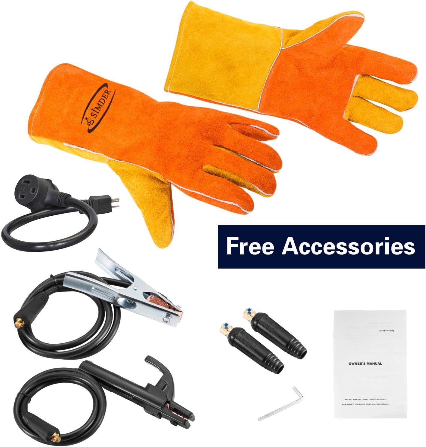 Welding Tools Arc Welder 110V 200A Welding Machine IGBT Inverter ...