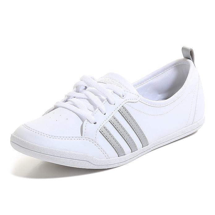adidas piona bling weiß damen schuhe ballerinas