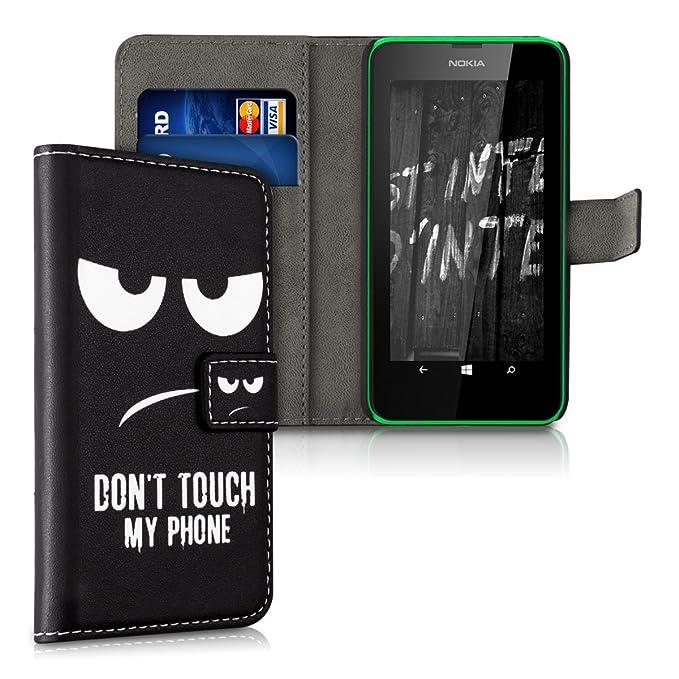 20 opinioni per kwmobile Nokia Lumia 630 Custodia Portafoglio- Cover Magnetica con Stand in