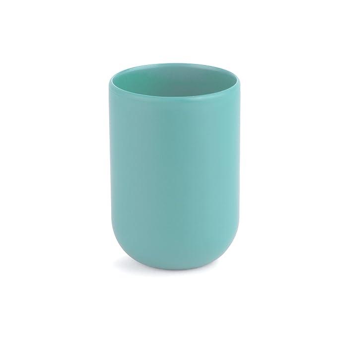 133 opinioni per Umbra 023270-276 Touch Bicchiere da Bagno, Blu Surf