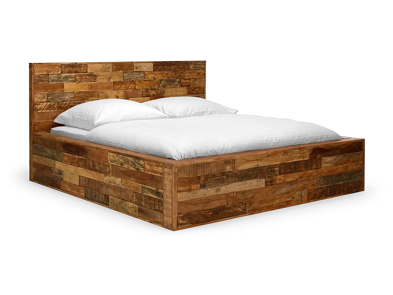 Massivum 10019372 Bett Holz, braun, 210 x 190 x 110 cm kaufen