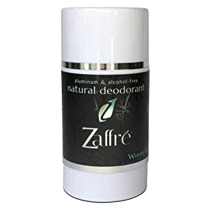 Zaffre Natural Deodorant for Women and Men, Aluminum Free Personal Underarm Deoderant, Chemical Free, Vegan, Healthy and Non-Toxic | Cruelty Free, Alcohol Free 3.2 oz - Fragrance: Whisper White