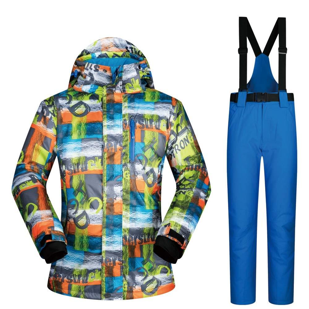 ChenYongPing Giacca da Sci Set di Pantaloni da Sci per per per Giacca da Snowboard Coloreeati da Uomo Abbigliamento da Sci Ideale (Coloreee   C3, Dimensione   M)B07L2P25ZQXXXL C2 | acquisto speciale  | Arte Squisita  | In Linea Outlet Store  | Grande Svendita 9506e8
