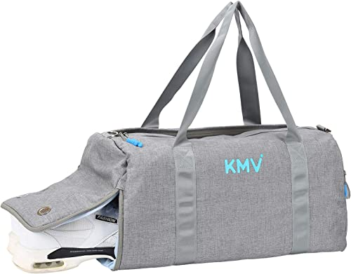 Carry on bag for women with Shoe Compartment and Wet Dry Pocket Travel Weekender Overnight Bag Gym Swimming Bags Waterproof 25L