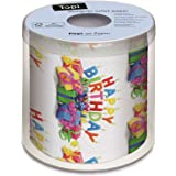 Topi Designer Toilet Paper - Happy Birthday Presents