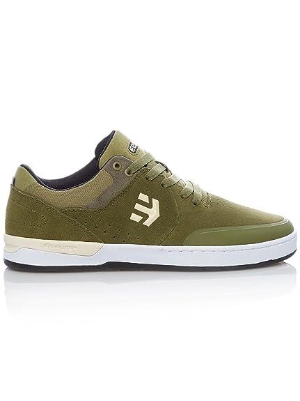 Etnies JEFFERSON MID - Chaussures de skate vert foncé hOoJZ3ykZs
