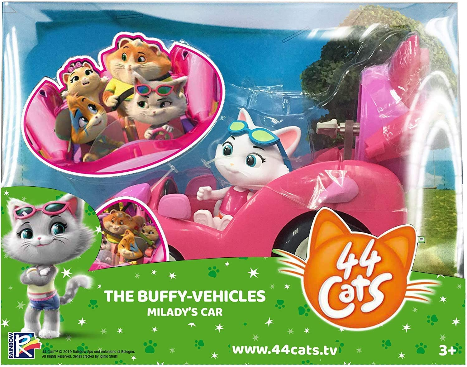 44 Cats Milady Vehicle with 3 Figure