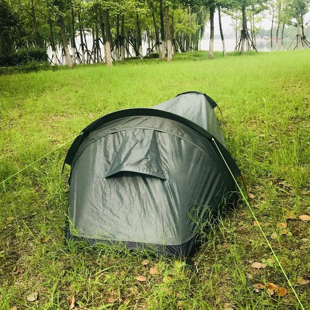 Tissu 210D Oxford Yunt-11 Tente Bivouac , Abri 100 /étanche Tente Bivouac Ultra l/ég/ère /à Installation Facile avec Sac de Transport pour 1 Personne en Plein air Tente de randonn/ée