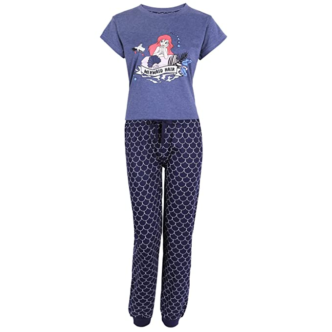 Disney The Little Mermaid Ariel Ladies PyjamasWomens PyjamasPJS