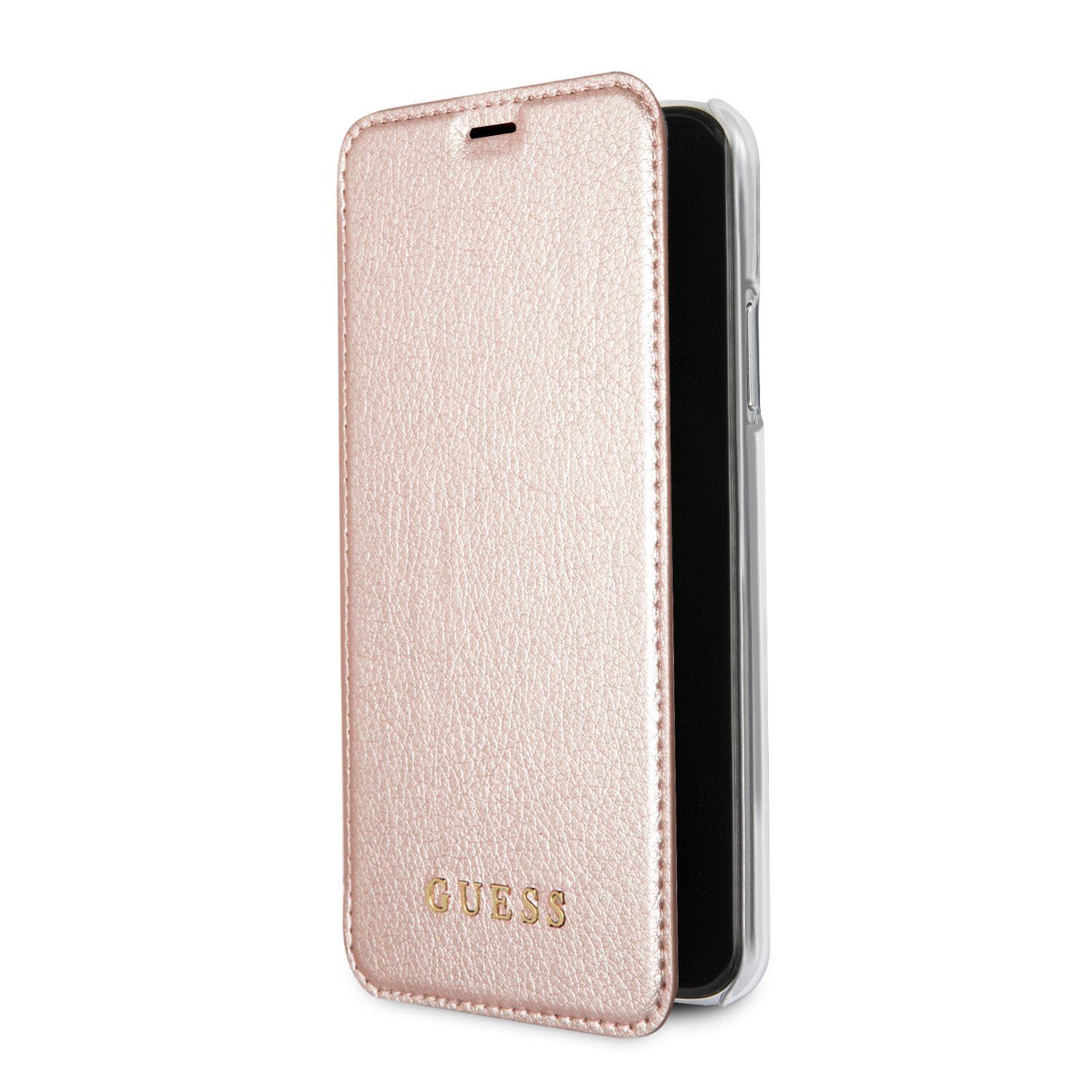 Guess GUFLBKPXIGLTRG PU Leather Book Style Case for: Amazon