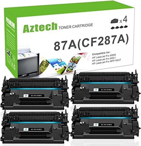 Amazon.com: Aztech 9 K páginas de papel High Yield Black ...