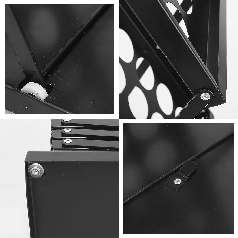 275 x 415 x 1240 mm a 4 ripiani con custodia per fiere commerciali colore: nero per d/épliant-Espositore per Brochure Voilamart Espositore per formato A4