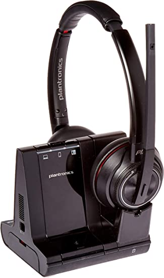 Amazon Com Plantronics Savi 8200 Series Wireless Dect Headset System Electronics