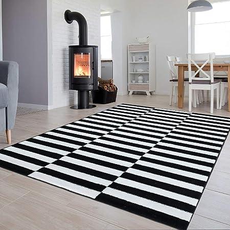 Tapis Salon Moderne Collection Luxury Sol Couleur Marron ...