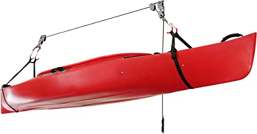 Overhead Pulley System for Kayak/Canoe/SUP Ceiling Storage [Delta Cycle] Picture