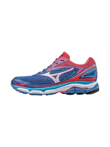 pick up 4a5aa f3298 Mizuno Women s Wave Inspire 13 Running Shoe, Malibu Blue Pink, ...