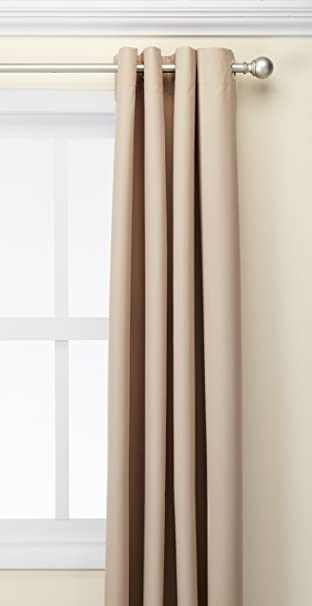 Amazoncom Deconovo Oxford Thermal Insulated Curtains With Backside