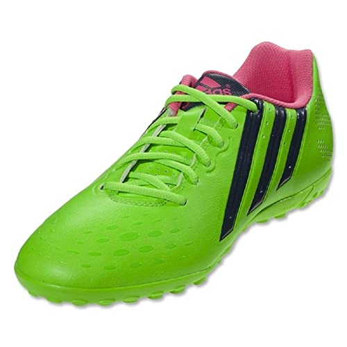 Adidas Freefootball X-ITE Botines de Fãºtbol de Cã©Sped Solar (Verde), 12,0 D (m) de Estados Unidos,: Amazon.es: Zapatos y complementos
