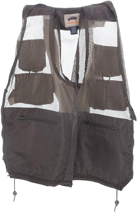HUMVEE HMV-VC-OD-M Medium Nylon Combat Vest with Safety Zipper