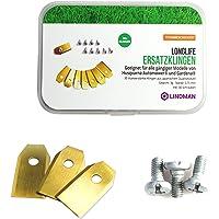 30 x titanium messen Longlife – geschikt voor alle Husqvarna® Automower® / Gardena robotmaaiers – [0,75 mm / 3 g…