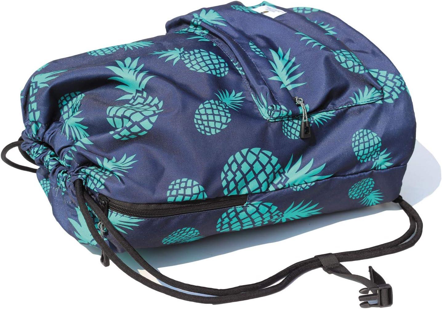Powder Room Stripes Drawstring Backpack Sports Athletic Gym Cinch Sack String Storage Bags for Hiking Travel Beach