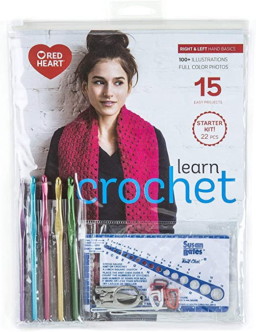 Amazon.com: Learn Crochet! Kit