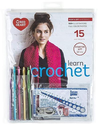 Amazoncom Learn Crochet Kit