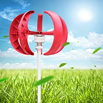 600W Wind Turbine Generator Windrad Windkraftanlage Windgenerator mit Controller