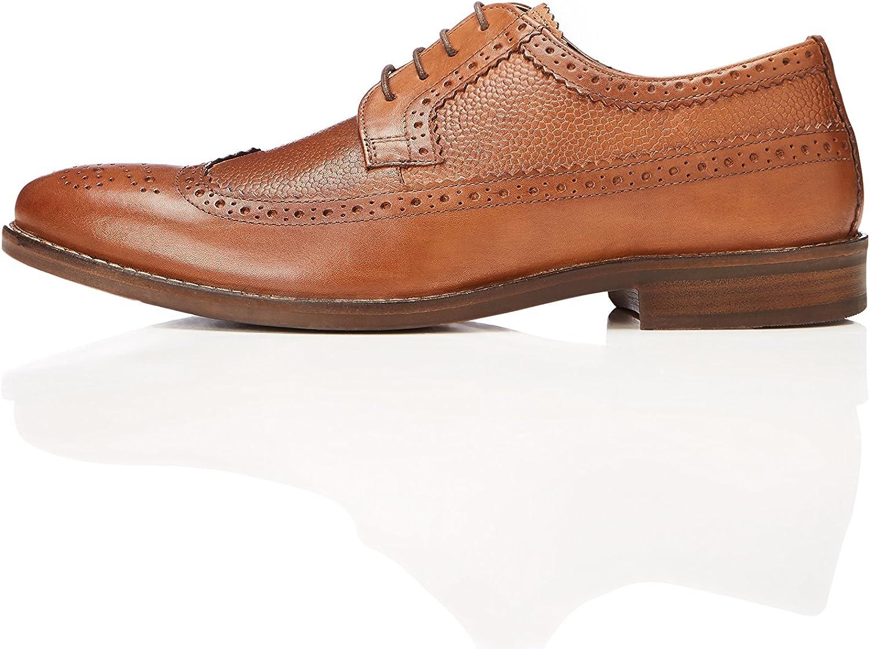 Marca Amazon - find. Zapatos Brogue Hombre